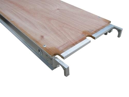 L quot w aluminum plywood deck