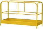 Guard Rail Assembly w/Gates for Steel MFU